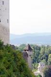 防御hohensalzburg 免版税库存图片