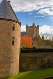 防御Huis伯格, 's-Heerenberg,海尔德兰省,荷兰 免版税图库摄影