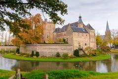 防御Huis伯格, 's-Heerenberg,海尔德兰省,荷兰 免版税库存照片