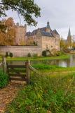 防御Huis伯格, 's-Heerenberg,海尔德兰省,荷兰 免版税库存图片