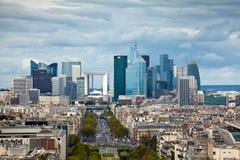 防御la巴黎 库存照片