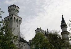 防御neuschwanstein 免版税库存图片