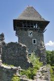防御nevitsky废墟 免版税库存照片