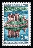 防御Val, Bort列斯Orgues,旅游业serie湖,大约1966年 库存照片