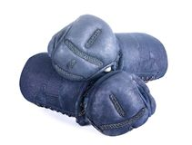 防护手套`日本操刀的Kendo的kote ` 免版税库存照片