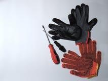 防护手套 图库摄影