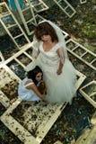 防护新娘 库存图片