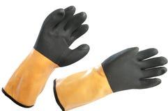 防护的手套 免版税图库摄影