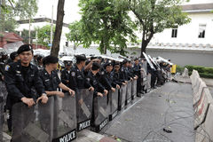 防暴警察 免版税库存照片