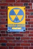 防核尘地下室符号 库存照片