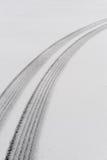 防滑轮胎跟踪 免版税库存图片