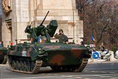 防空坦克 免版税库存图片