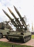防空导弹复杂Kub M3的发射器 图库摄影
