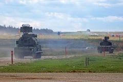 防空导弹系统 库存图片