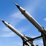 防空导弹 免版税库存照片