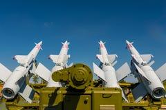 防空导弹系统S-125 免版税库存照片