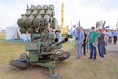 防空设施ZU-23/30M1-3 库存照片