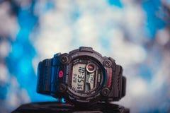 防震的手表 免版税库存图片