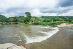 防洪坝,在国家公园 库存照片
