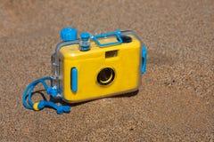 防水的照相机 图库摄影