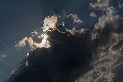 阳光创造清晰视界 库存图片