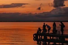 阳光在巴伦西亚 库存图片