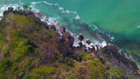 阳光海岸的Noosa国家公园,昆士兰,澳大利亚 免版税库存图片
