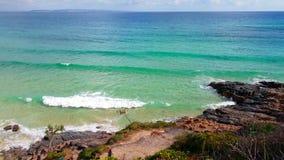 阳光海岸的Noosa国家公园,昆士兰,澳大利亚 免版税图库摄影