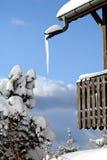 阳台冰 库存照片