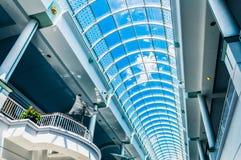 阳台和Towson市中心天花板  免版税库存图片