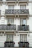 阳台在巴黎 库存照片