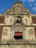 阳台城市墨西哥国民宫殿 库存图片