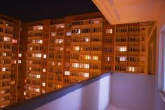 阳台少数民族居住区 库存照片