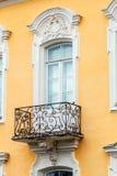 阳台巴洛克式的门面房子 peterhof图片