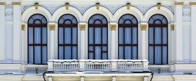 阳台市政厅坦佩雷 图库摄影