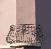 阳台幽默建筑学 库存图片