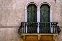 阳台意大利语 库存照片