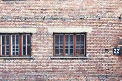 阳台房子墙壁视窗 库存图片