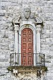 阳台教会 库存照片