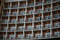 阳台旅馆 库存照片