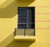 阳台视窗 免版税库存照片