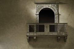阳台 免版税库存照片