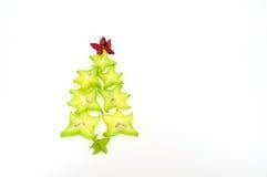 阳桃圣诞树 免版税库存图片
