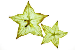 阳桃starfruit 库存图片