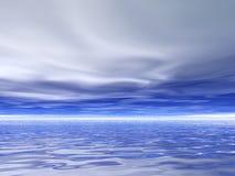 阴沉的天空 库存照片