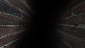 阴沉的走廊 黑暗和阴沉,有很多奥秘,走廊41 库存照片