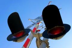 阴级射线示波器铁路运输 库存图片