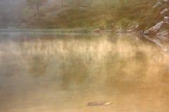 阴霾湖 图库摄影