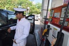 阵亡将士纪念日英雄在三宝垄 免版税库存照片