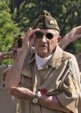 阵亡将士纪念日仪式 库存照片